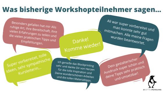 3dottedpenguins workshop feedback