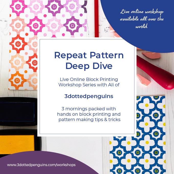 repeat pattern deep dive workshop series 3dottedpenguins